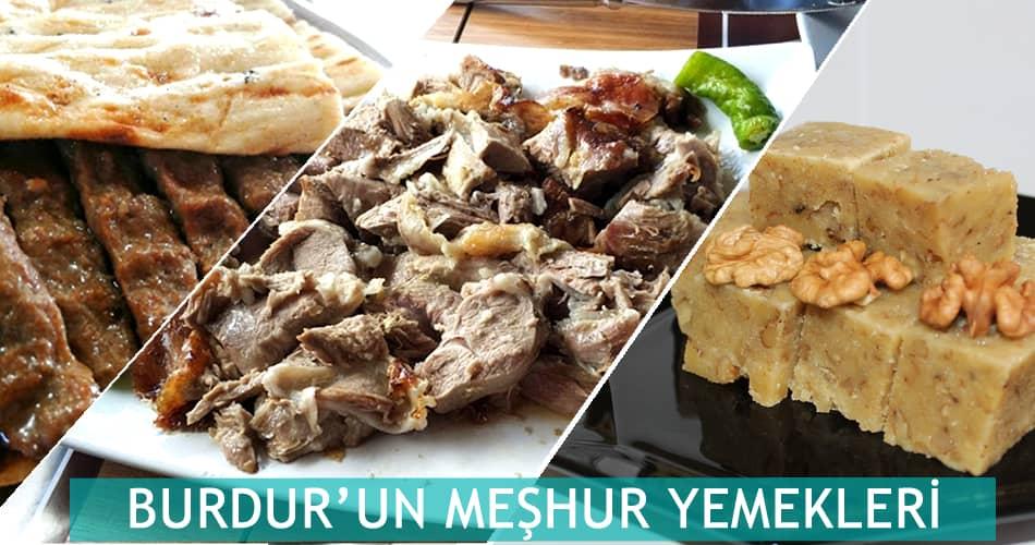 Burdur'un Meşhur Yemekleri
